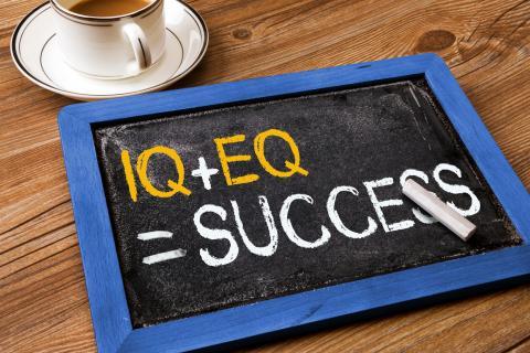 IQ+EQ equals success Source RobertHalf UK