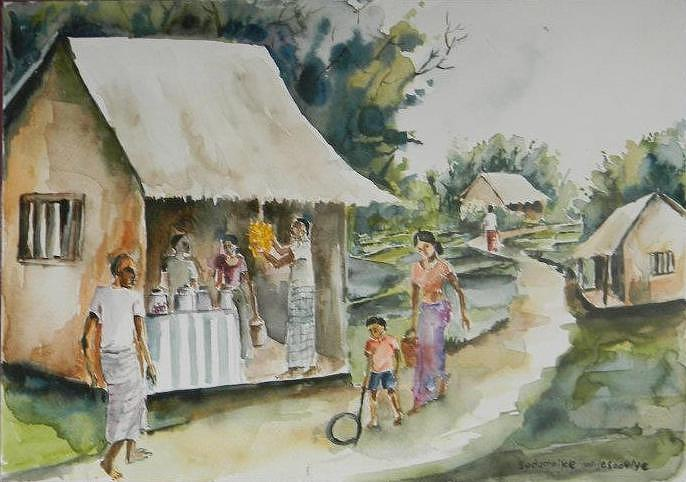 a-village-shop-sudumenike-wijesooriya