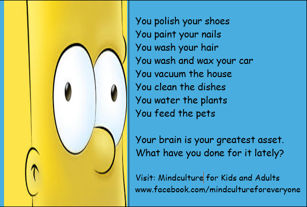YourBrain is your greatest asset